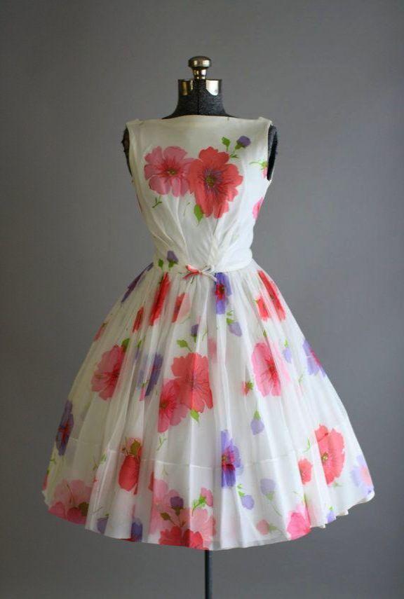 Ahhh Vintage 1950s Dresses Uk Visit Vintage 1950s Dresses Vintage Dresses Vintage Style Outfits