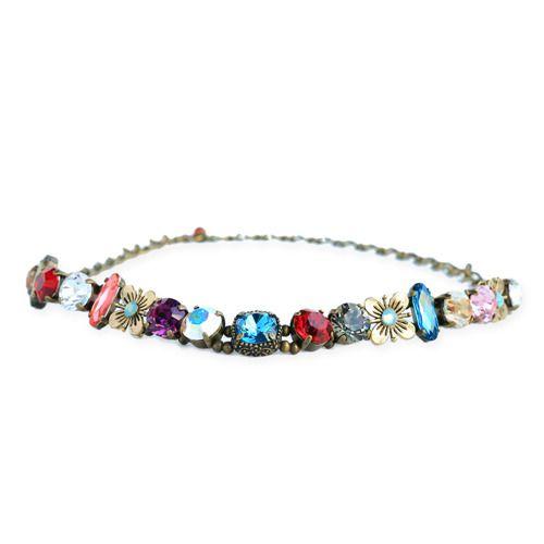 「チョーカーネックレス」Created by Marais ビビットな色合いでありつつ、上品さがある、ワンランク上の組み合わせ。