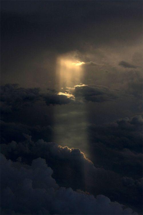 Wolke mit Sonnenschein / Cloud with Sunshine