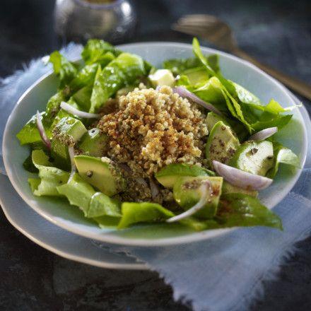 Quinoa-Salat mit Avocado, Ras el hanout und Paprika Rezept