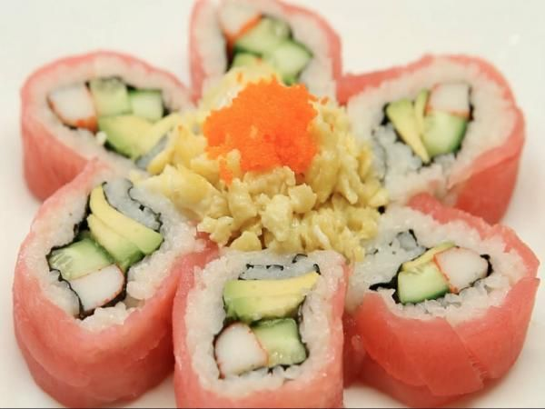 How to Make Sushi - Sakura Sushi Rolls Recipe Video by TheJapanFoodChannel | ifood.tv
