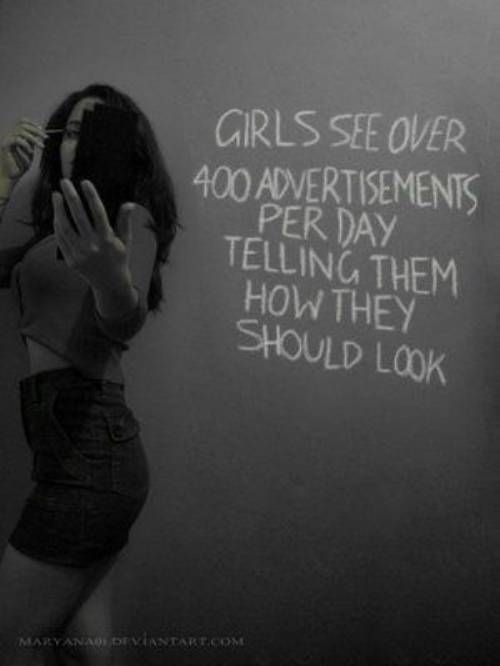 Teach girls to scrutinise media, not their appearance.
