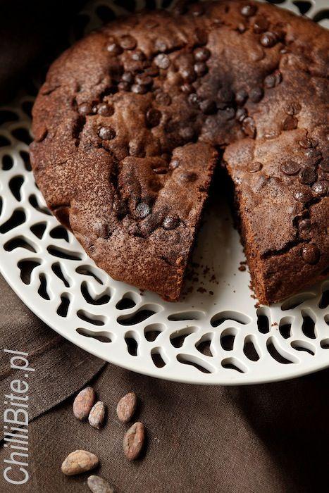 ciasto ultra czekoladowe z cytryną