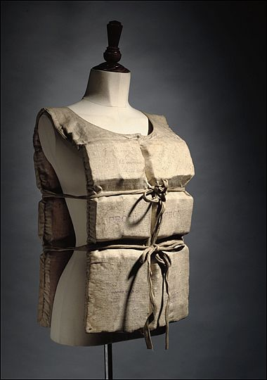Titanic Survivors Lifevest...Of the 2,223 passengers on the Titanic, only 706 survived leaving 1,517 dead. The largest percentage of survivors were first class passengers, followed by second class, and finally third class. Most of the deaths were due to hypothermia in the freezing water, which would cause death in less than 15 minutes. 6 of the 7 children in first class survived. All of the children in second class survived, whereas only 34 percent were saved in third class.