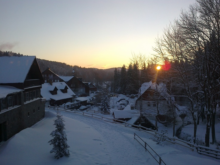 I love it this place. Bedrichov in Jizera mountains
