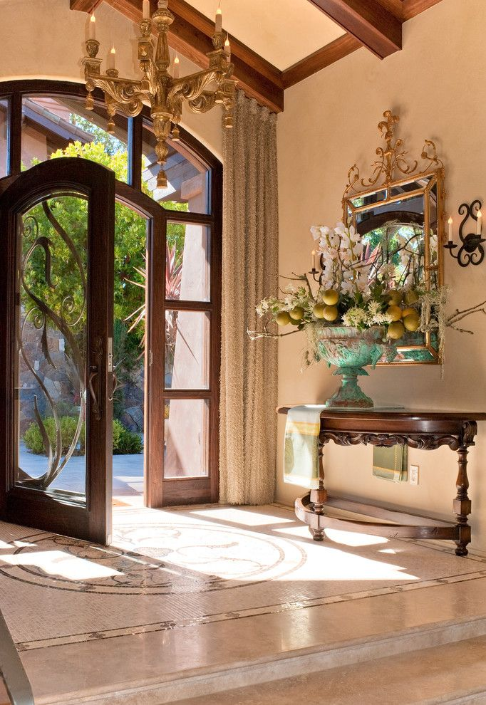 Foyer And Entryways Near Me : Best mediterranean design images on pinterest home