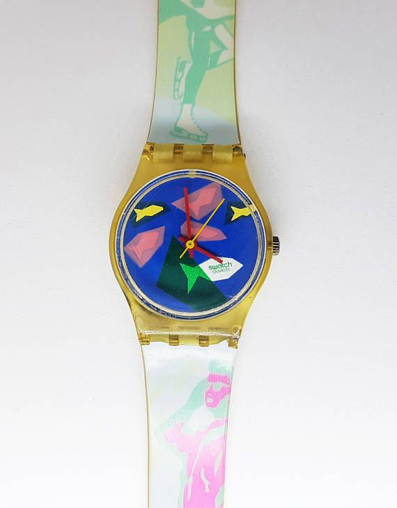 Swatch Watch Swiss Made Fish Theme Swatch Watch Awesome