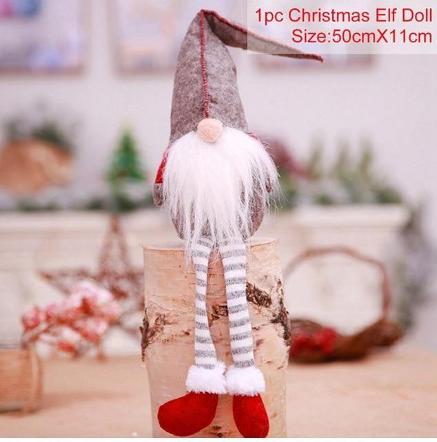 Fengrise Christmas Faceless Doll Merry Christmas Decorations For Home Cristmas Ornament Xmas Navidad Natal New Year In 2021 Merry Christmas Decoration Christmas Dolls Christmas Decorations