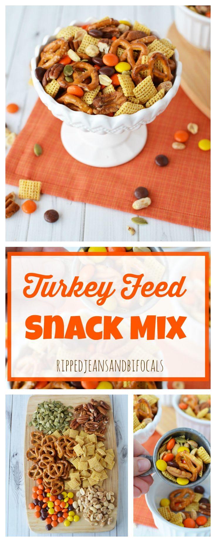 Turkey Feed Snack Mix