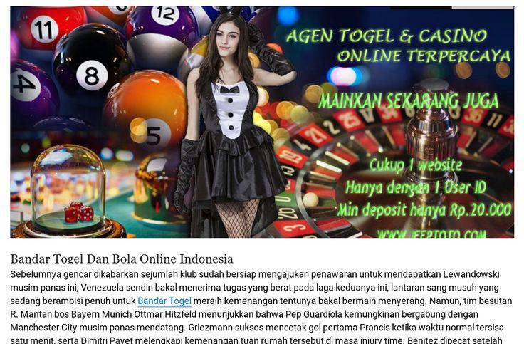 situs betting bola dan togel terpercaya terbaik terbesar indonesia