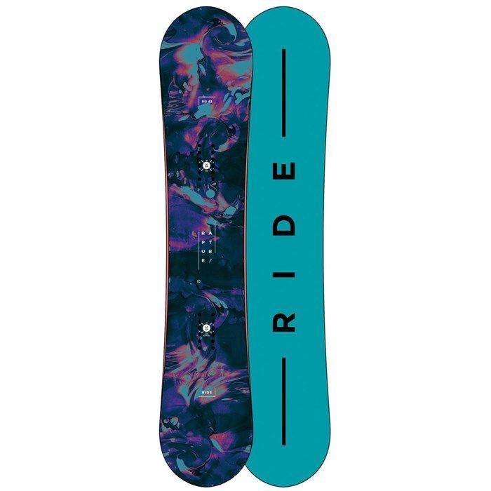 Ride - Rapture Snowboard - Women's + Ride KS Snowboard Bindings - Women's + Ride Sage Snowboard Boots - Women's 2018