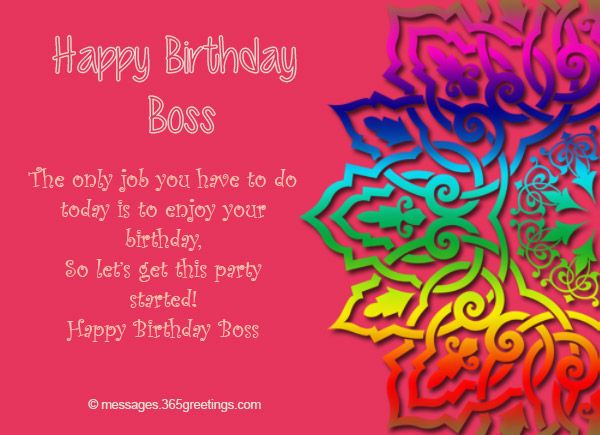 What to write on your boss' birthday card