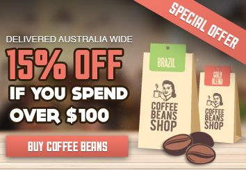 15% OFF for all coffee lovers!