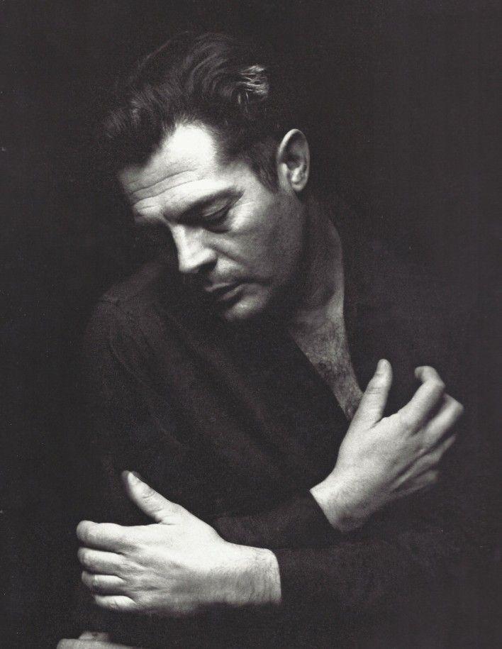 Portrait of Marcello Mastroianni for Lo straniero directed by Luchino Visconti, 1967. Photo by Pierluigi Praturlon.