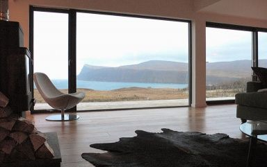 "Am Ende der Welt: ""Wood House"", Isle of Skye (Schottland)"