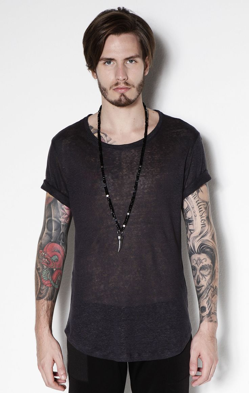 T Shirt Side Ziper