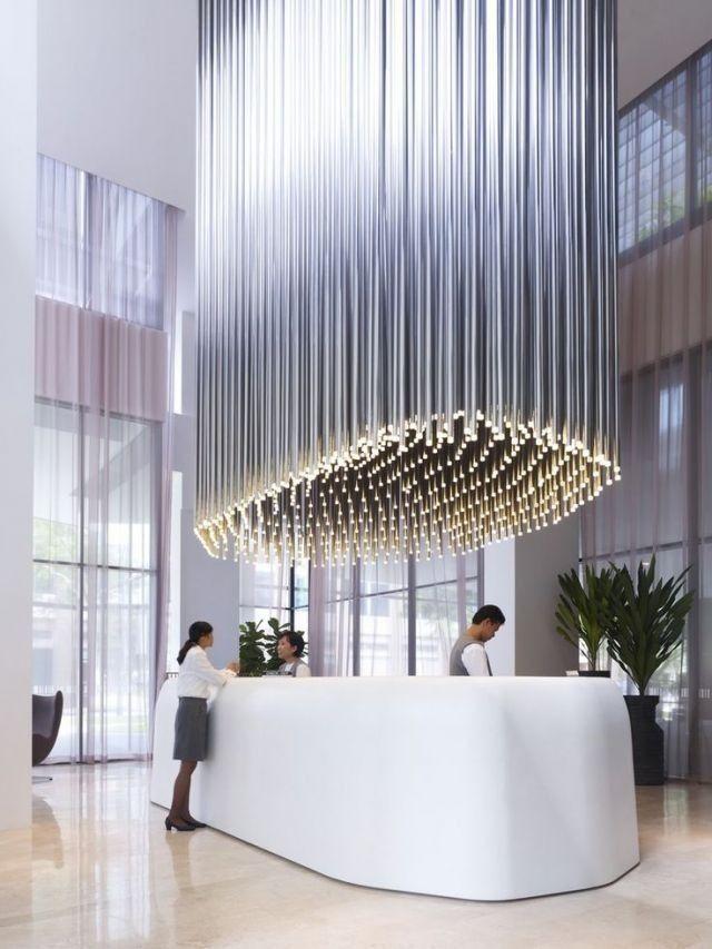 Hotel Lobbies - Grand Entrances | Visit www.contemporarylighting.eu for more inspiring images and decor inspirations