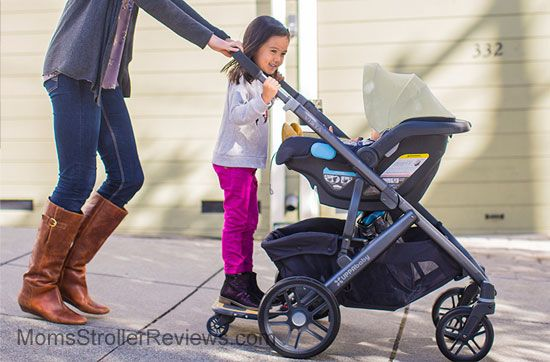 New 2015 Uppababy Vista Piggyboard So Much Fun Here Is