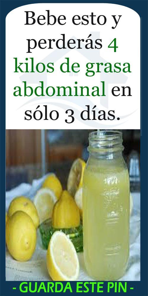 Bebe esto y perderás 4 kilos de grasa abdominal en sólo 3 días. – DiyForYou