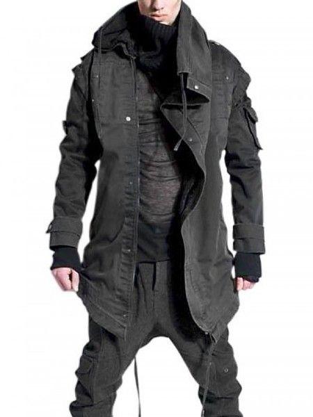 Demobaza | Asymmetric Cotton Casual Jacket