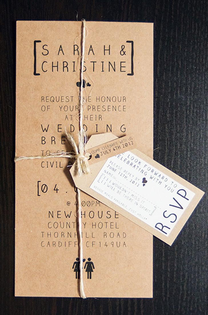 I like the vintage recycle look of this invite!:) You could use the layout for anything really:)