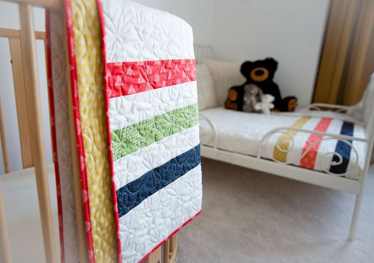 Cute twin quilts.