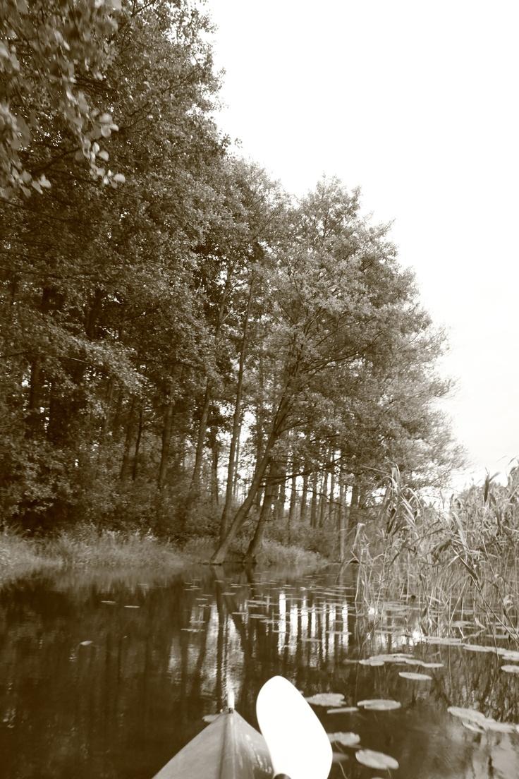 Babięcka Struga, Mazuren, kayaking