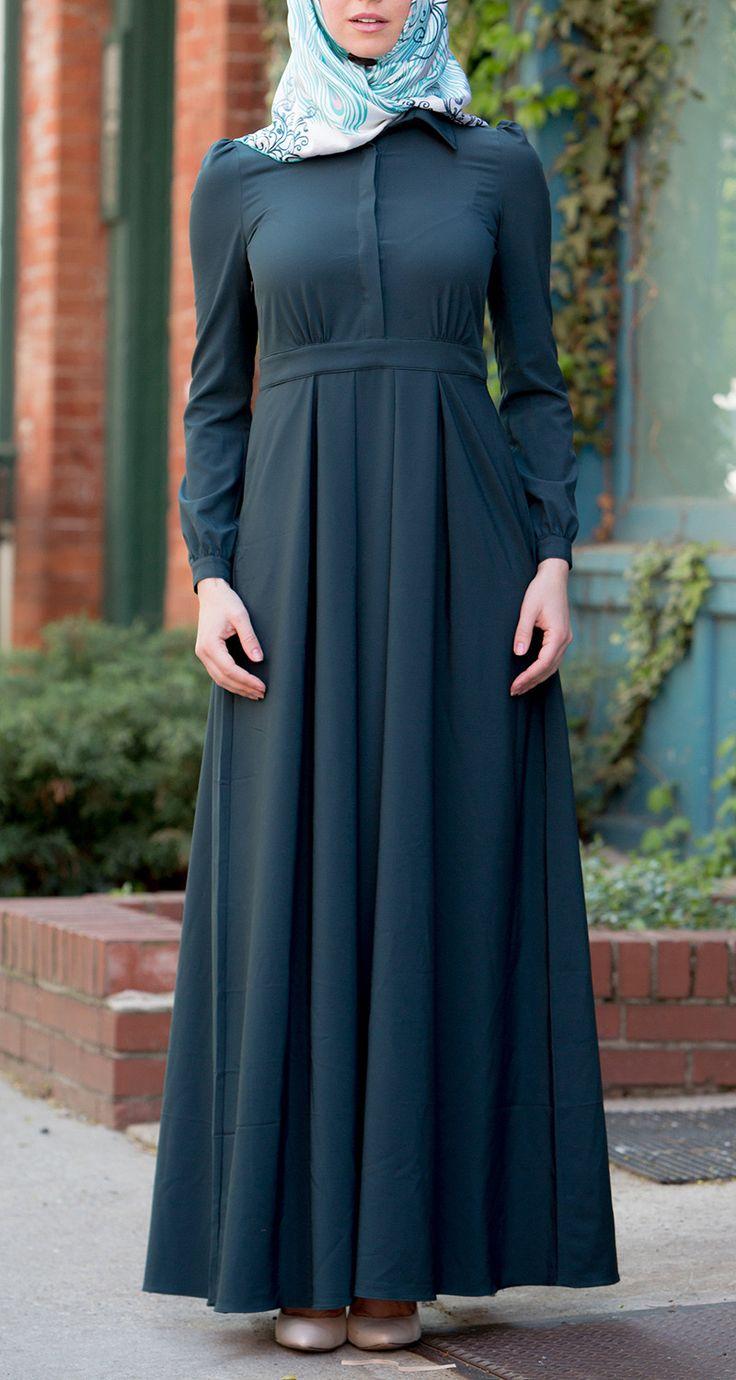 Teal Lattice Maxi Dress