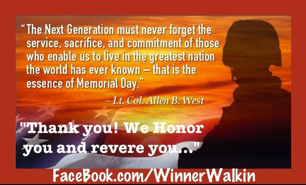 memorial day thank you prayer