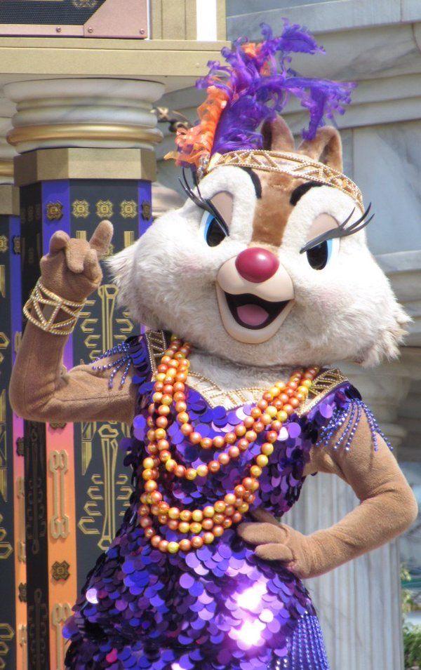 "Disney's New York Halloween follies Clarice    ""I wanna be love by you"" sung by tress macneille"