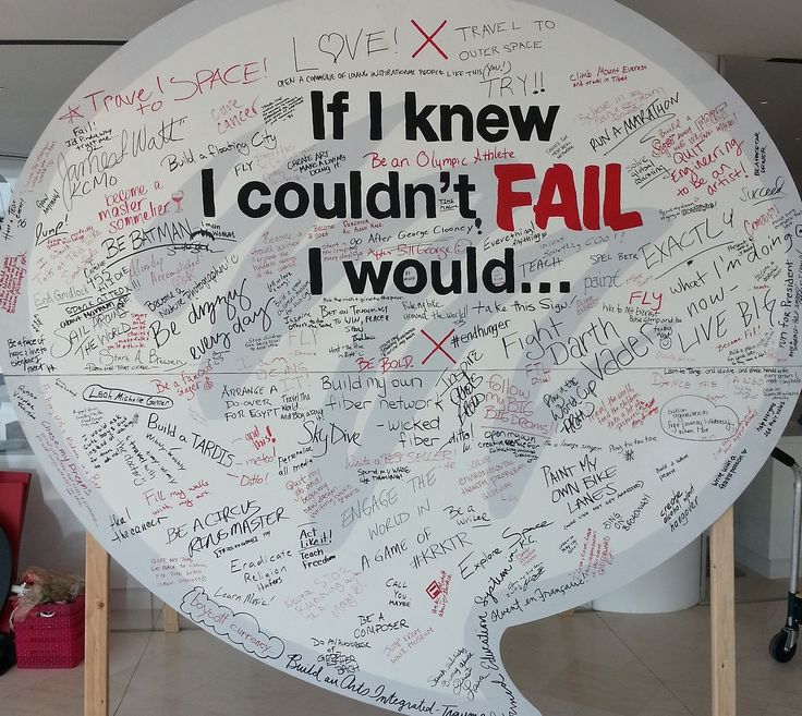 TEDx — If I knew I couldn't fail, I would… Photos of...