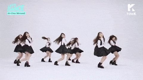 Let's Dance: LOVELYZ(러블리즈) Ah-Choo Mirrored Choreography(미러버전 안무영상) for 1theK Cover Dance Contest【KPOP Korean POP Music K-POP 韓國流行音樂】