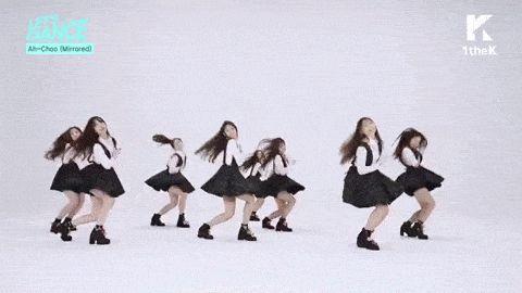 Let's Dance: LOVELYZ(러블리즈) Ah-Choo Mirrored Choreography(미러버전 안무영상) for 1theK Cover Dance Contest【KPOP Korean POP Music K-POP 韓國流行音樂】