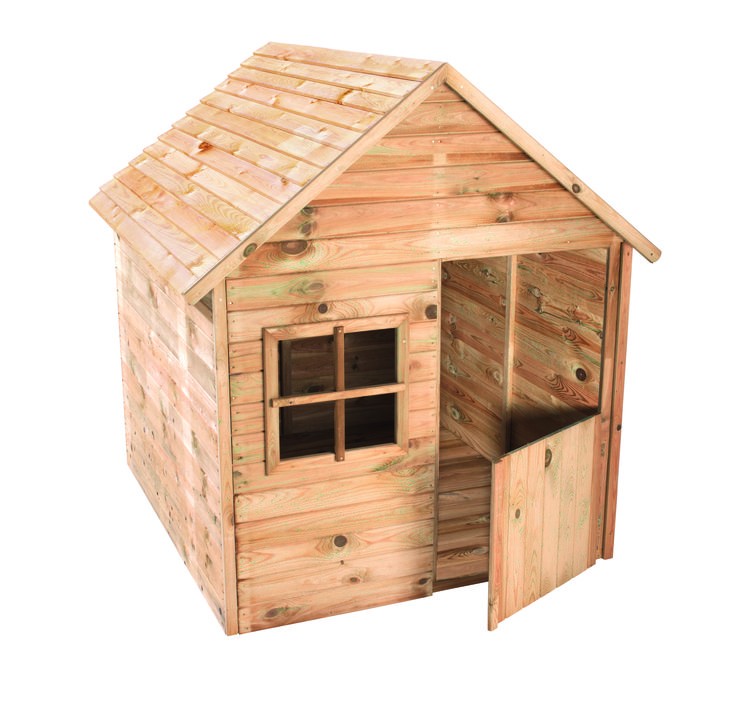 AKI Bricolaje, jardineru00eda y decoraciu00f3n. Caseta madera infantil ...