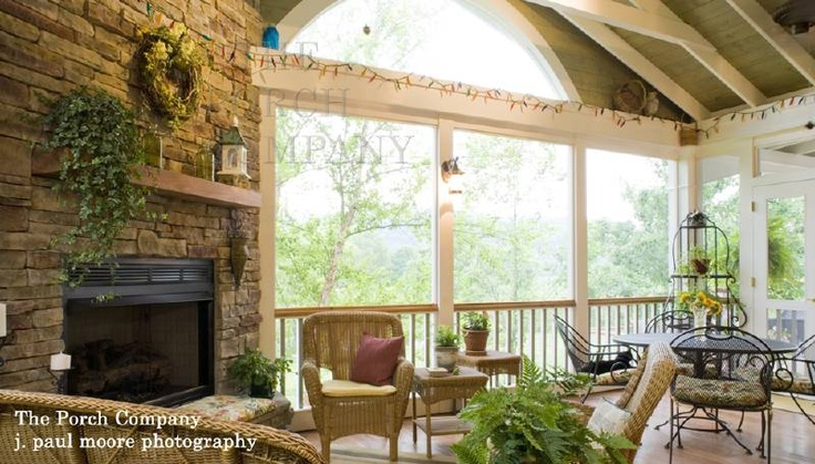 17 Best Images About Fireplace Ideas For Our Screened Porch On Pinterest