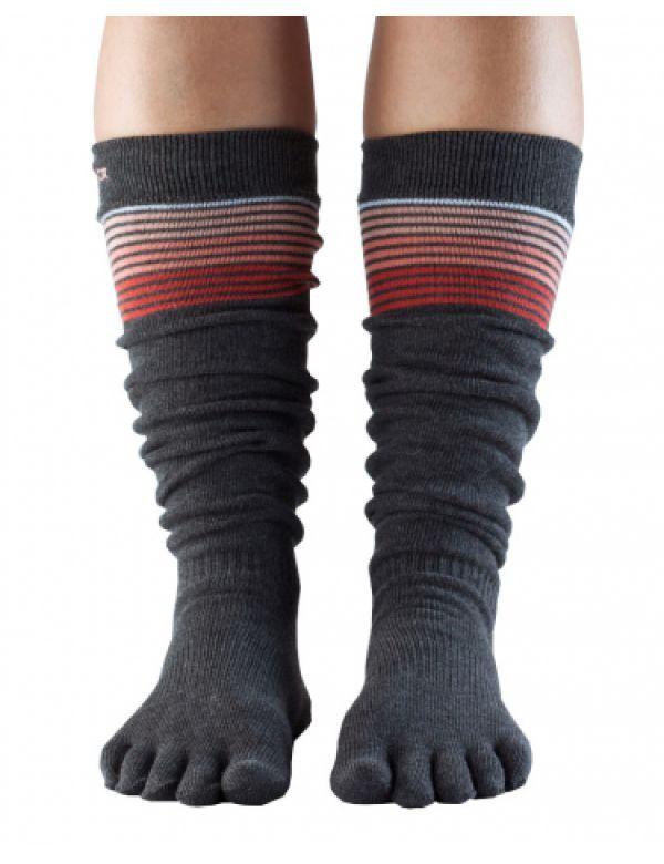 Kniehoge teen-sokken, maat Small.