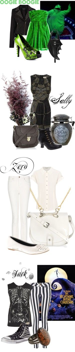 """Nightmare Before Christmas"" by indieshutterbug on Polyvore"