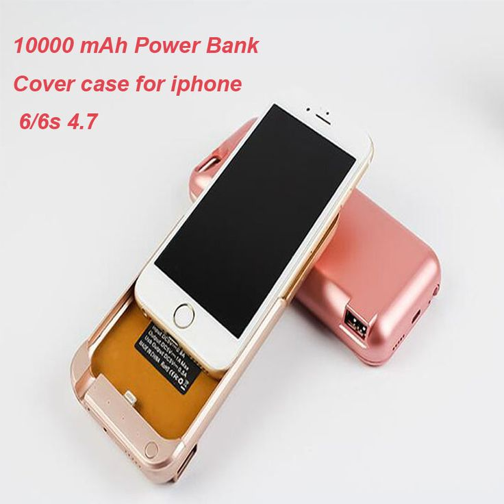 Kailiya Technology Portable Wireless 10000mAh Power Bank Cover Case Battery Charger For Apple iPhone 5/5S 6/6S Plus