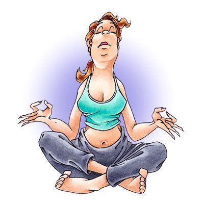 Kimberly Yoga Digi Stamp in Digital images