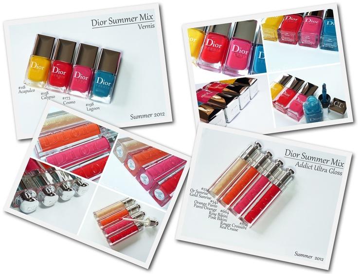 Dior Summer Mix Collection: Dior Summer, Summer Mixed, Mixed Collection