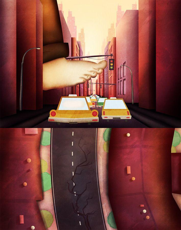 Chopin Died - Surprise by Studio Pigeon, via Behance