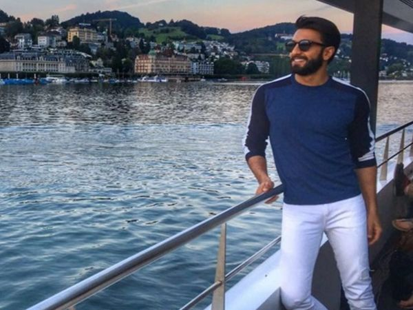 Ranveer Singh has signed a contract to promote Switzerland for next one year.