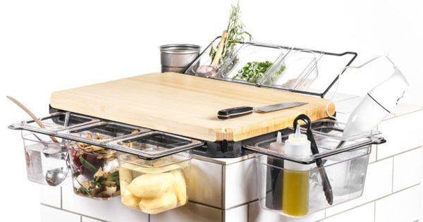Cutting Board Upgraded to Kitchen Workbench: The Frankfurter Brett