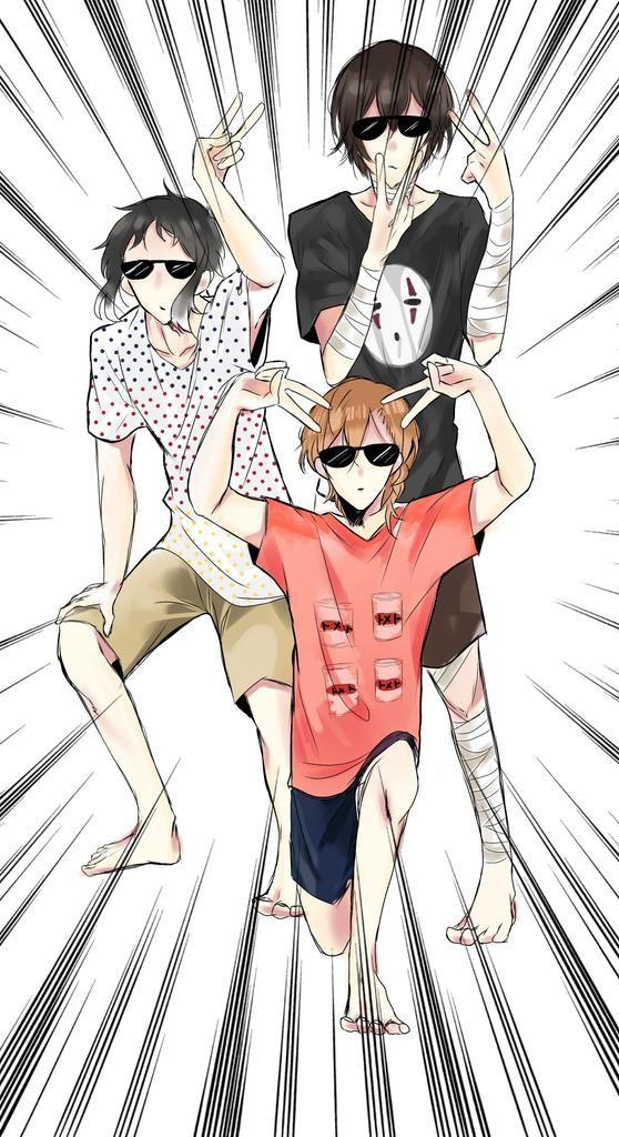 Akutagawa, Dazai y Chuuya