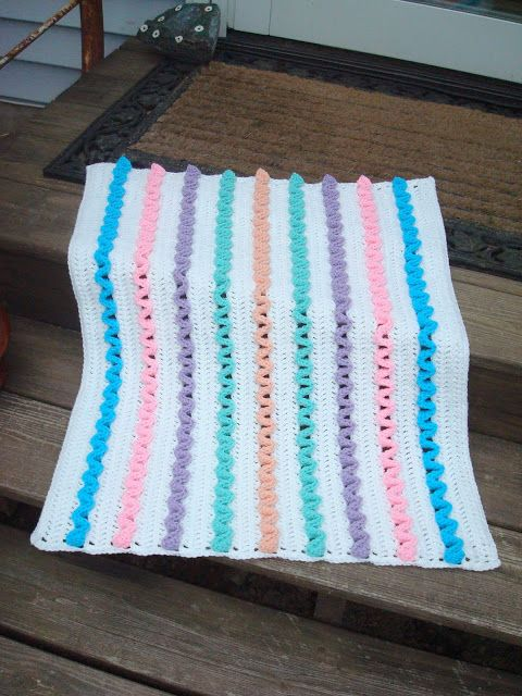 48 Best Images About Crochet Preemie Blankets On Pinterest