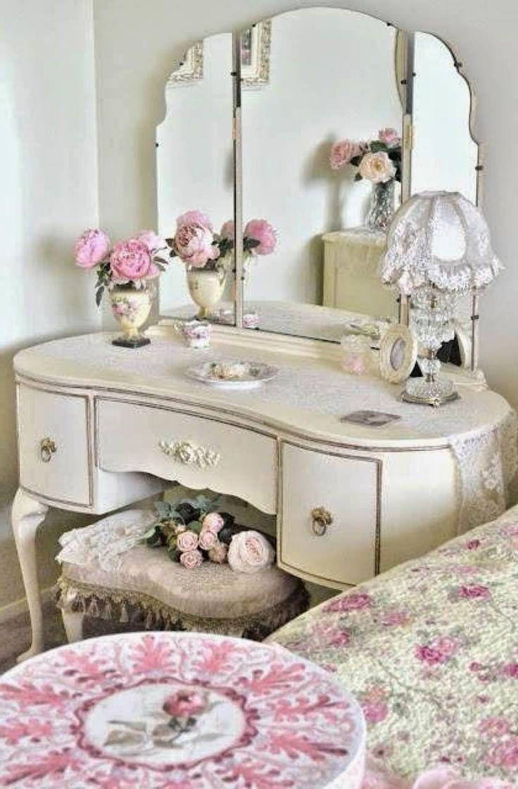 Vintage Toaletné Stolíky ~ Homemade by Majka
