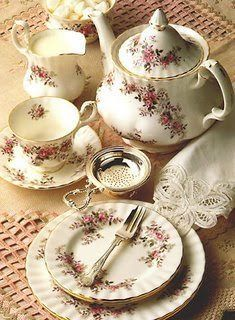 Lovely tea party, Royal Albert China