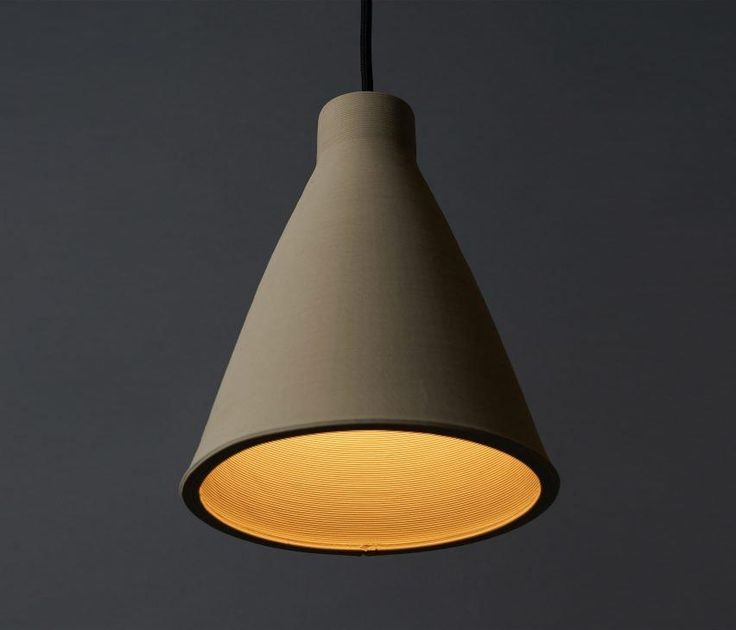 Pocket: Tom Fereday's Pelo light is made from a single coil of extruded ceramic