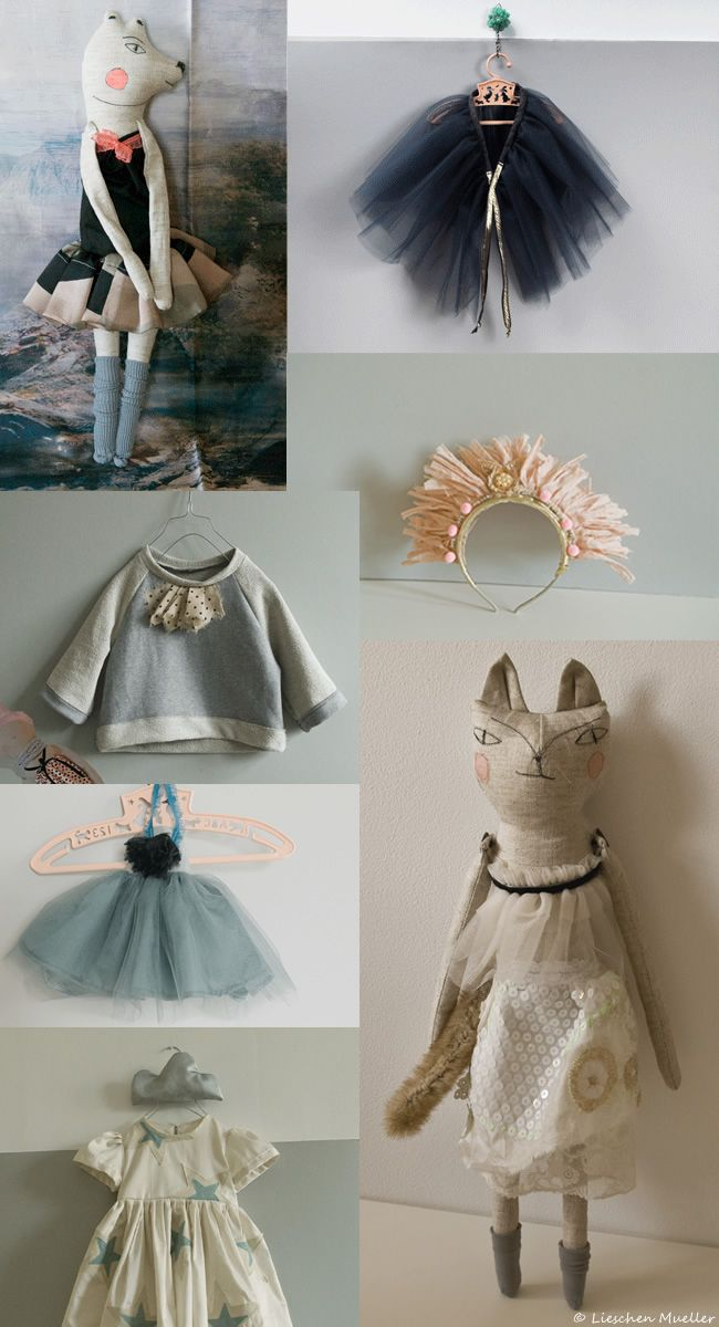 Lieschen Mueller - love her stuff! Love the toy! What an attention to detail!