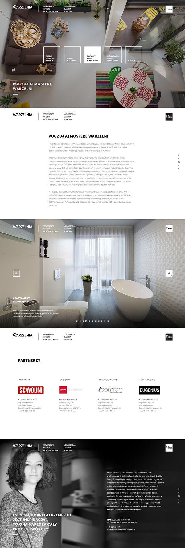 New Warzelnia (redesigned) on Web Design Served